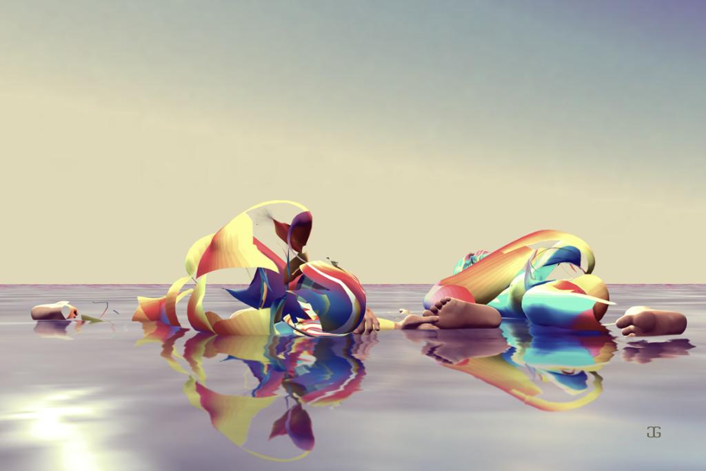 Am Wasser zu Zweit